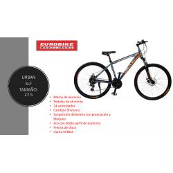Bicicleta de Alumino para adulto N.27.5 de 24 velocidades MARCA URBAN