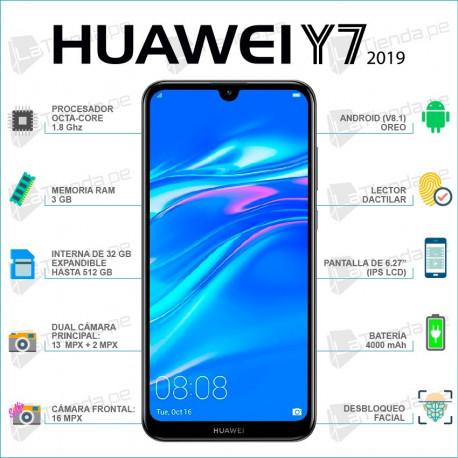 Celular Y7-2019 MARCA HUAWEI