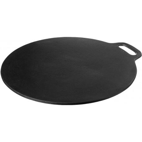 Comal de hierro fundido Crepe Pan, Dosa, Roti Tawa, Budare MARCA VICTORIA