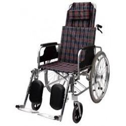 Silla de ruedas con respaldo declinable MARCA MEDICAL CARE