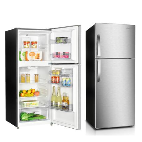 Refrigerador de 12 pies cúbicos Gris MARCA PREMIUM