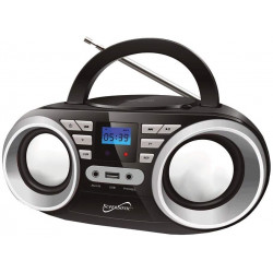 Radio FM, MP3, USB y CD MARCA SUPERSONIC