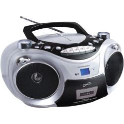 Radiograbadora FM/AM, MP3, USB, CD, MP3, Bluetooth MARCA SUPERSONIC
