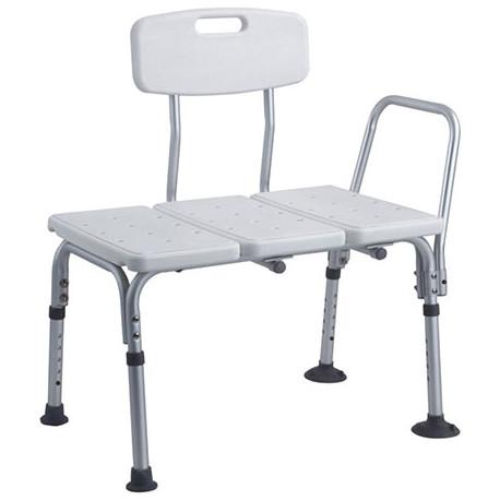 Silla para ducha con respaldo ajustable MARCA ABM MEDICAL CARE