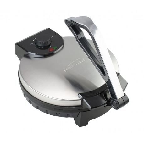 Maquina para hacer tortillas de 12 plg MARCA BRENTWOOD