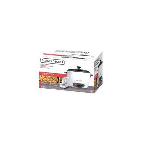 COMBO Olla Arrocera 20 Tazas y Mini Procesador de Alimentos MARCA BLACK + DECKER