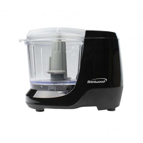 Mini procesador de alimentos Negro MARCA BRENTWOOD