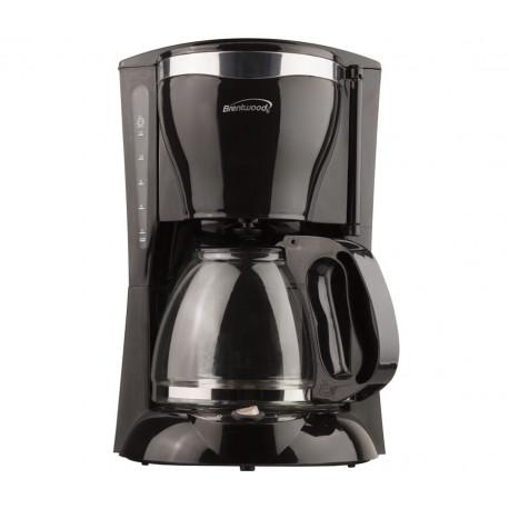 Cafetera de 12 tazas negro MARCA BRENTWOOD
