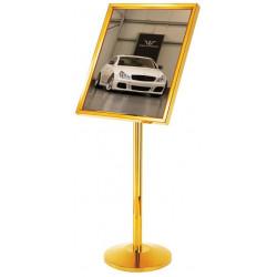 Pedestal para letrero MARCA ABM