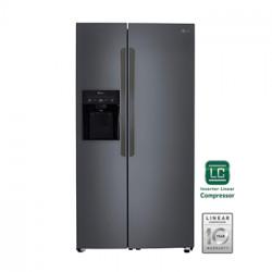 Refrigerador de 27 pies cúbicos side by side MARCA LG