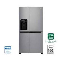 Refrigerador de 20 pies cúbicos side by side MARCA LG