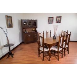 Amueblado de comedor 6 sillas Escorial MARCA PRIMIUM