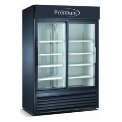 Refrigerador exhibidor vertical de 45 pies cubicos MARCA PREMIUM