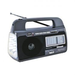 Radio linterna recargable MARCA SUPERSONIC