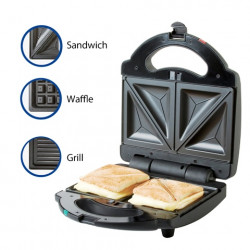 Sandwichera multifuncional de acero inxidable MARCA PREMIUM