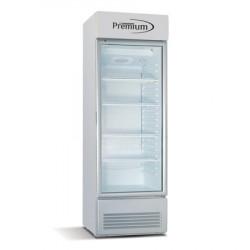 Refrigerador exhibidor vertical de 12.8 pies cubicos MARCA PREMIUM