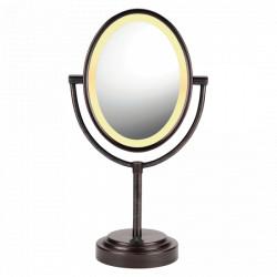 Espejo ovalado para maquillaje MARCA CONAIR