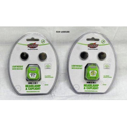 Linterna para cabeza de 3 Led MARCA INTERSTATE BATTERIES
