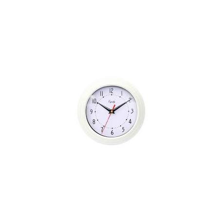 Reloj de pared de 20 cm blanco MARCA EQUITY