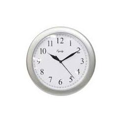Reloj de pared de 26 cm gris y negro MARCA EQUITY
