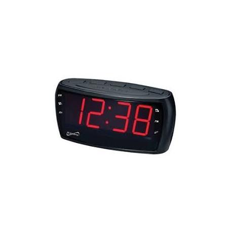 Radio reloj despertador eléctrico MARCA RCA