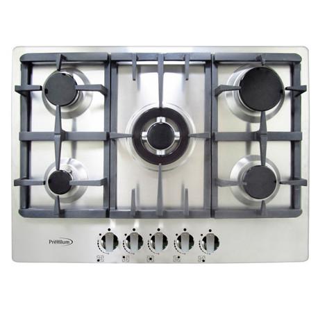Estufa empotrable top para empotrar a gas marca premium for Cocina de gas profesional